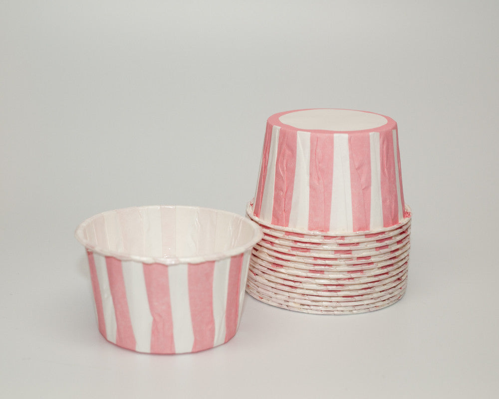 Pink Stripe Candy Cups - Undercover Hostess