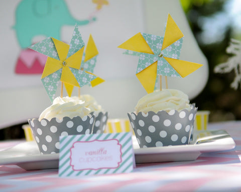 Pinwheels and Elephants Hostess Kit