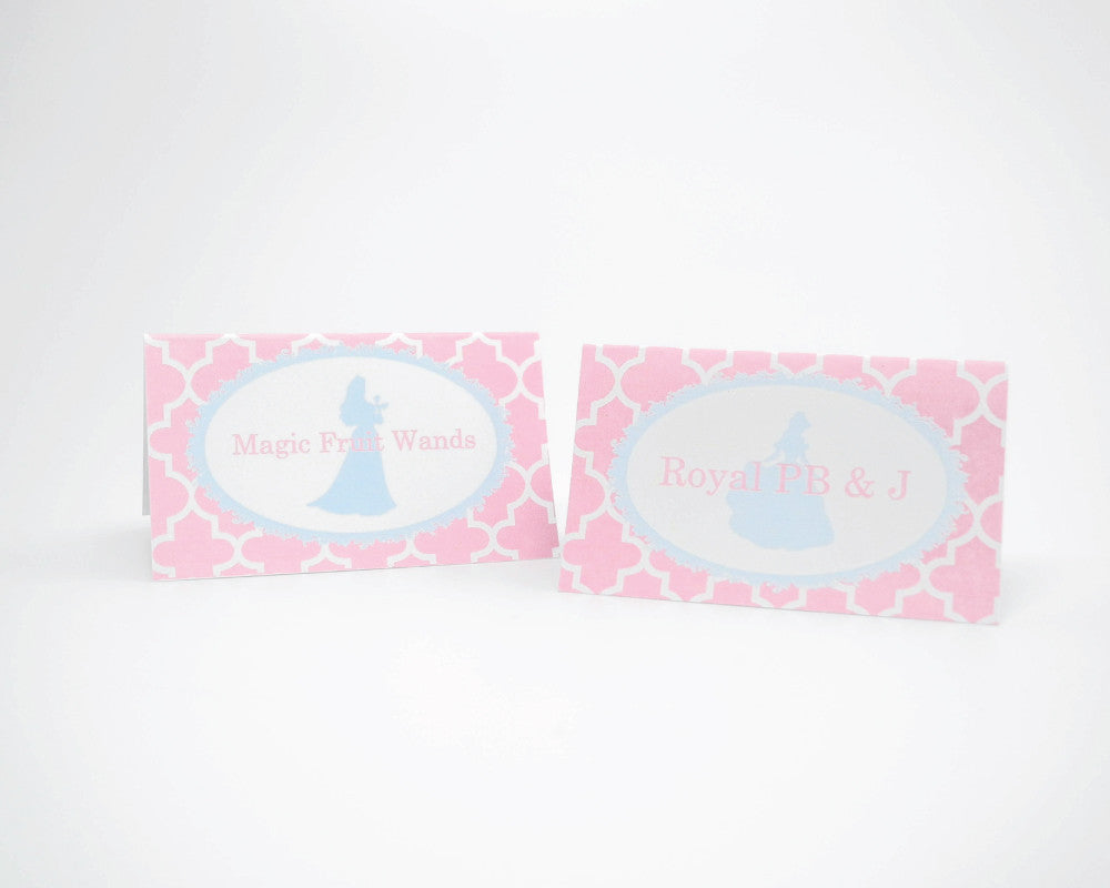 Once Upon A Time Tent Cards - Undercover Hostess