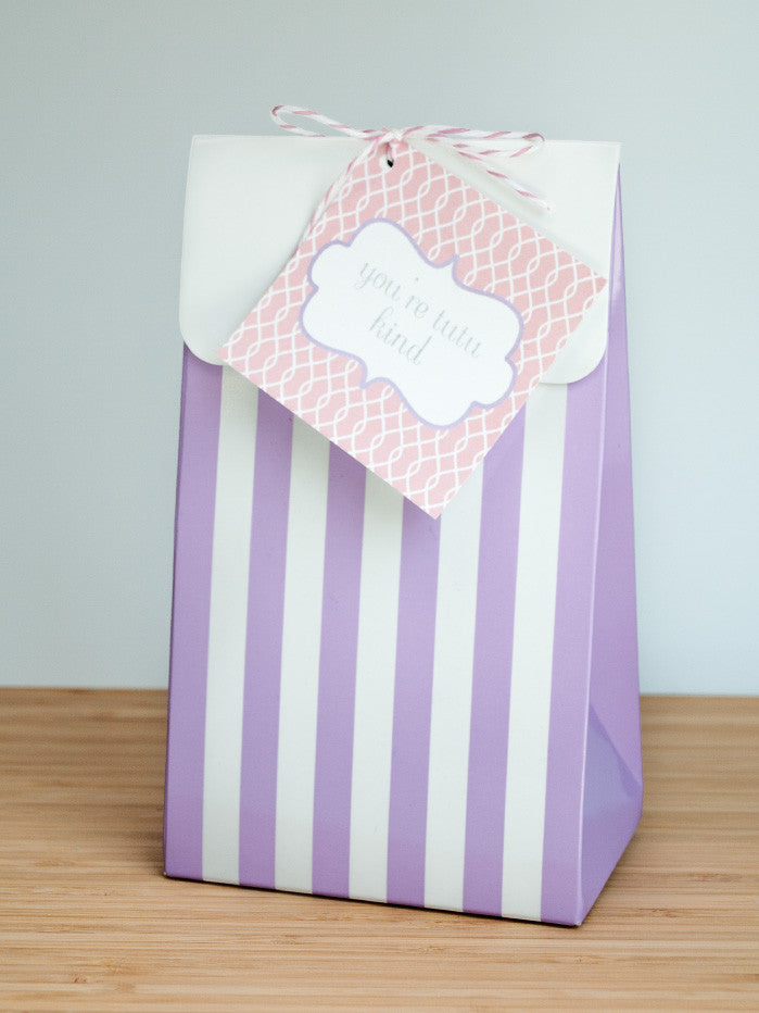 Tutu Sweet Favor Bags & Tags - Undercover Hostess