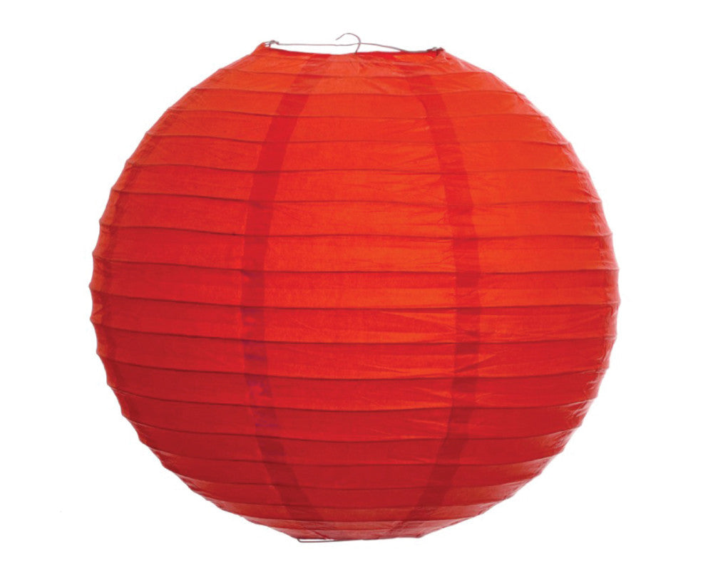 "Red Paper Lantern - 10"" - Undercover Hostess"