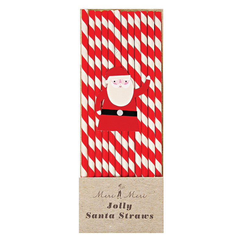 Santa Straws - Undercover Hostess