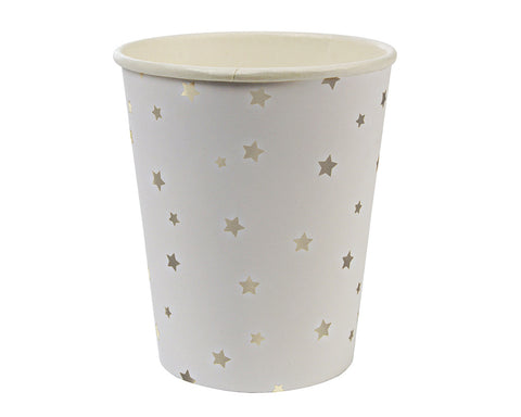 Silver Star Paper Cups