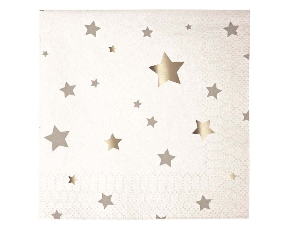Silver Star Napkins - Undercover Hostess