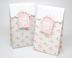 A Baby is Brewing White Favor Bags & Tags - Undercover Hostess - 2