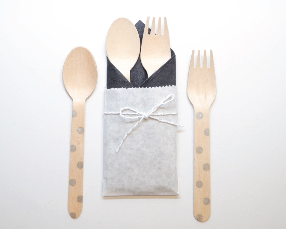 Tiffany Party Utensil Kit - Undercover Hostess