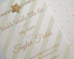 Twinkle Twinkle Little Shower Invitations - Undercover Hostess - 2