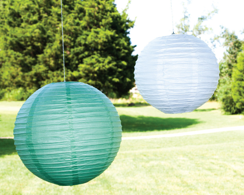 Twinkle Twinkle Little Party Paper Ribbed Lanterns - Undercover Hostess