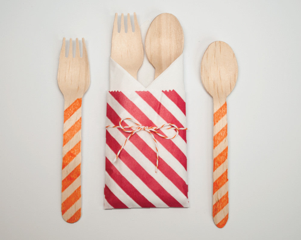 Under Construction Utensil Kit - Undercover Hostess