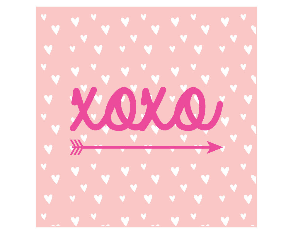 XOXO Printable Valetine's Day Favor Tags - Undercover Hostess - 1