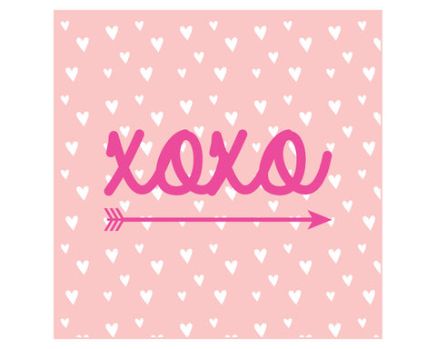 XOXO Printable Valetine's Day Favor Tags