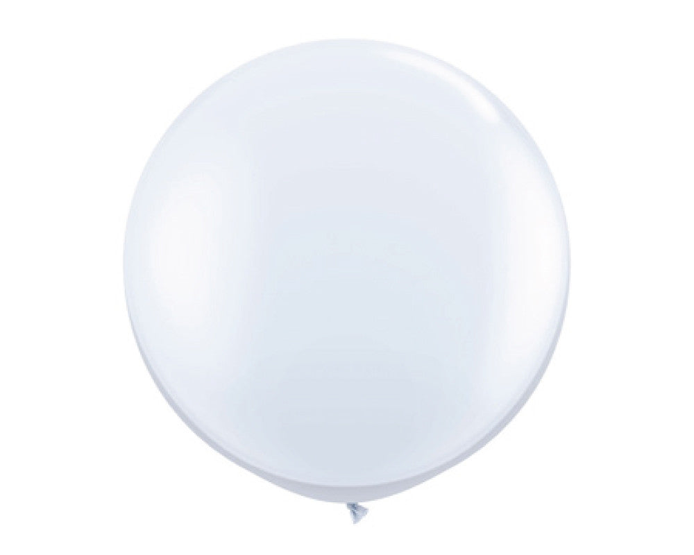 "White 36"" Balloon - Undercover Hostess - 1"