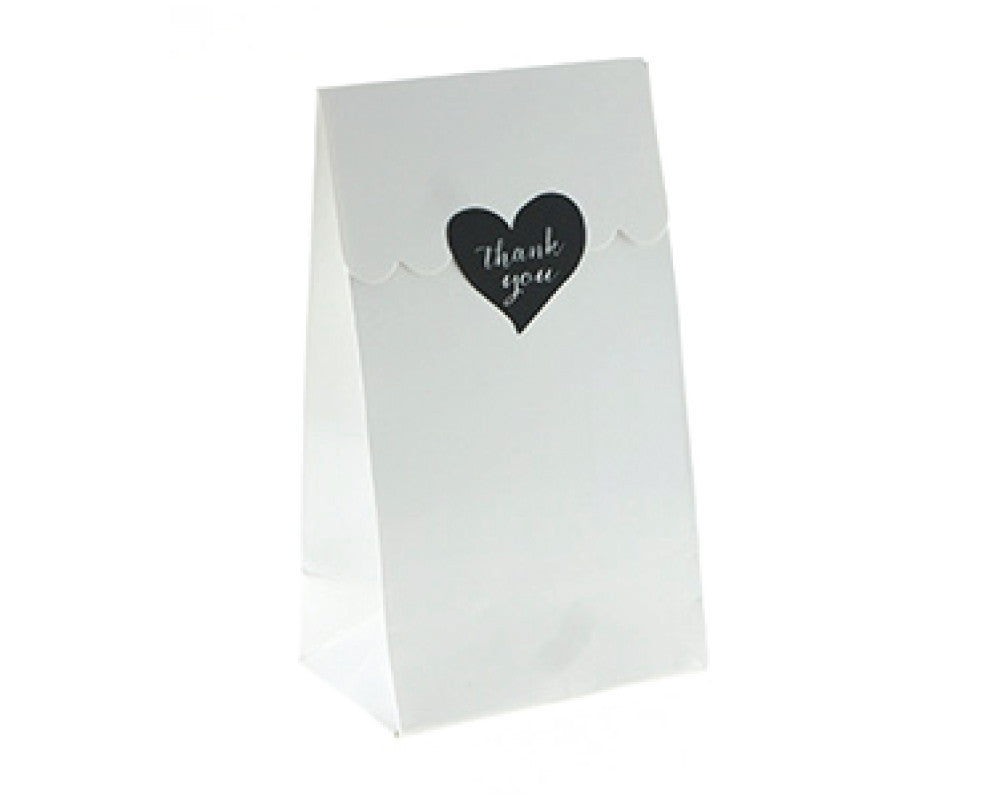 White Favor Bag - Undercover Hostess - 1