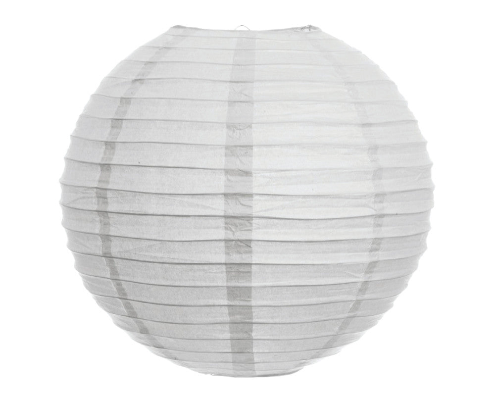 "White Paper Lantern - 10"" - Undercover Hostess"