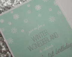Winter Wonderland Invitations - Undercover Hostess - 2