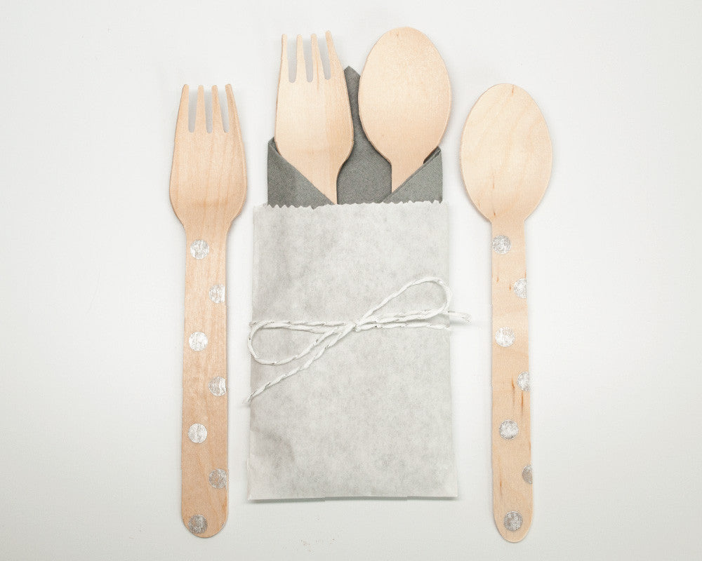 Winter Wonderland Utensil Kit - Undercover Hostess