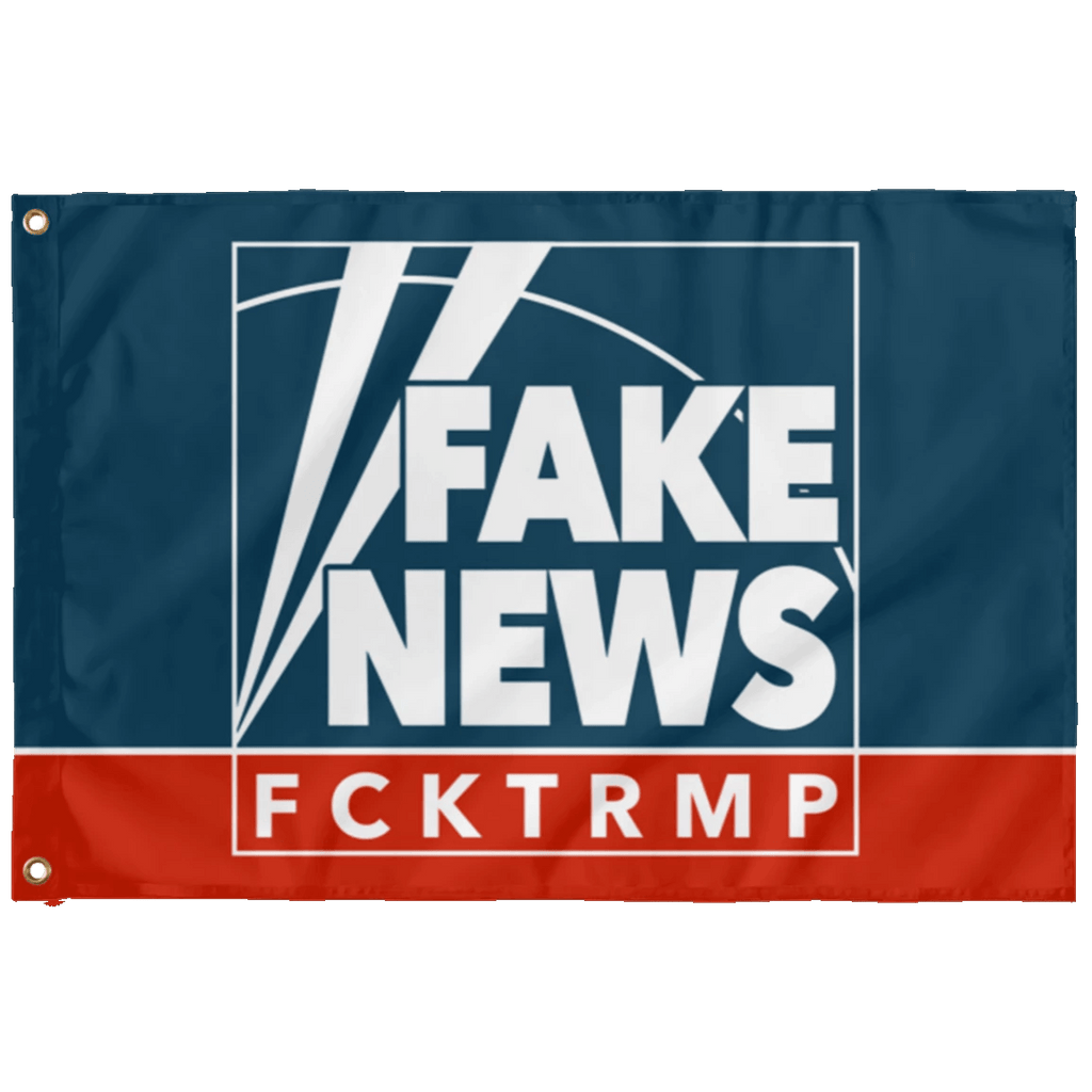 Fake News Wall Flag Housewares CustomCat 2' x 3'
