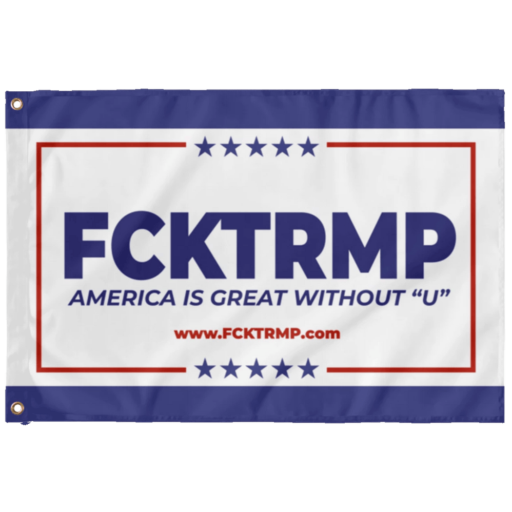 FCKTRMP Campaign Flag Housewares CustomCat 2' x 3'