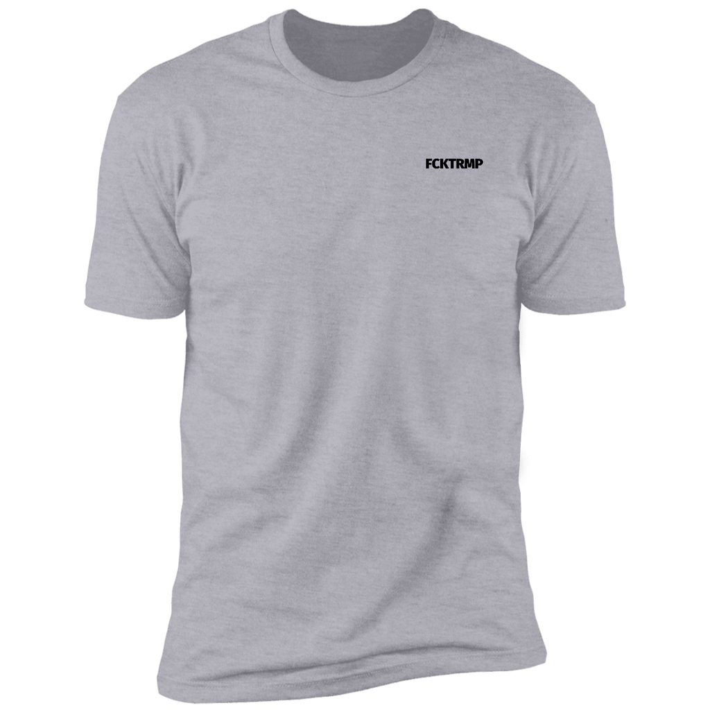 FCKTRMP Simple T-Shirts CustomCat Heather Grey X-Small