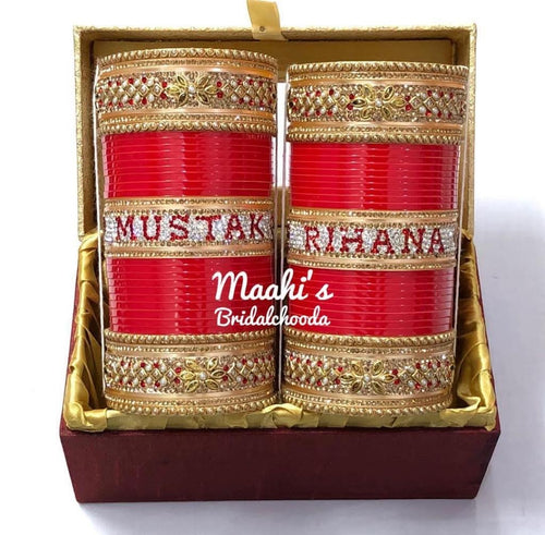 Maahi's Exclusive Personalized Chooda - 026