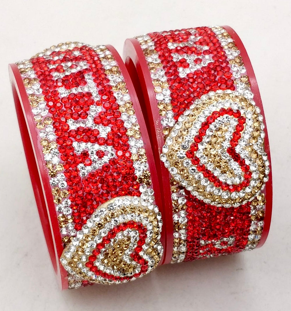Maahi's Exclusive Personalized Bangles Set - 011 - Bridalchooda