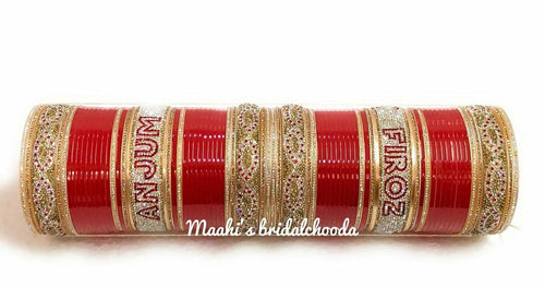 Maahi's Exclusive Personalized Chooda - 004 - Bridalchooda