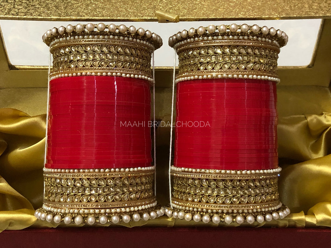 Maahi Exclusive Kundan Chura - 038