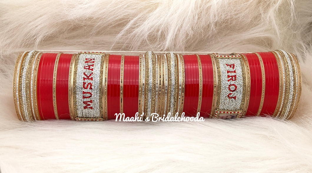 Maahi's Exclusive Personalized Chooda - 008 - Bridalchooda