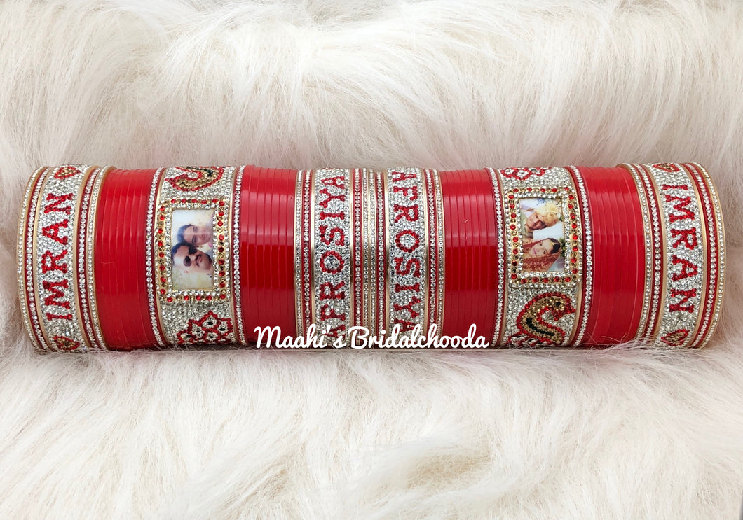 Maahi's Exclusive Personalized Chooda - 011 - Bridalchooda