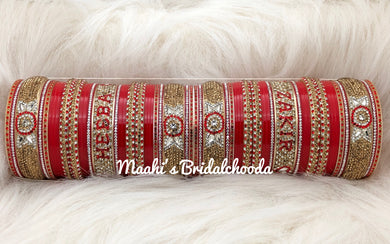 Maahi's Exclusive Personalized Chooda - 012 - Bridalchooda