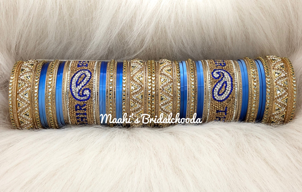 Maahi's Exclusive Personalized Chooda - 014 - Bridalchooda