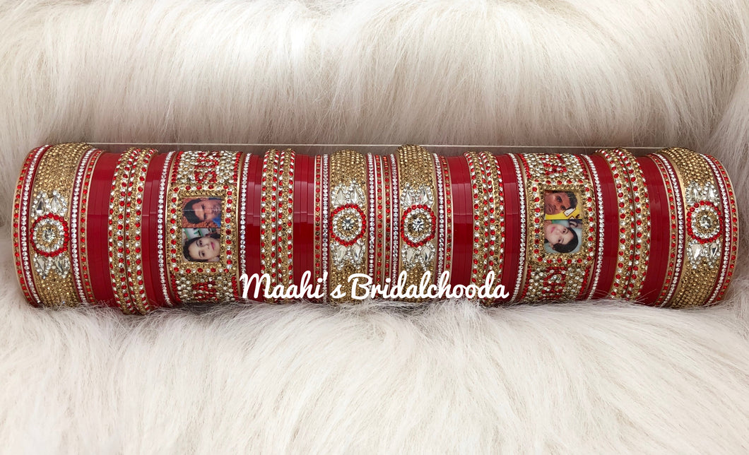 Maahi's Exclusive Personalized Chooda - 015 - Bridalchooda