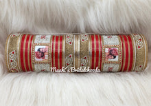 Load image into Gallery viewer, Maahi's Exclusive Personalized Chooda - 022 - Bridalchooda