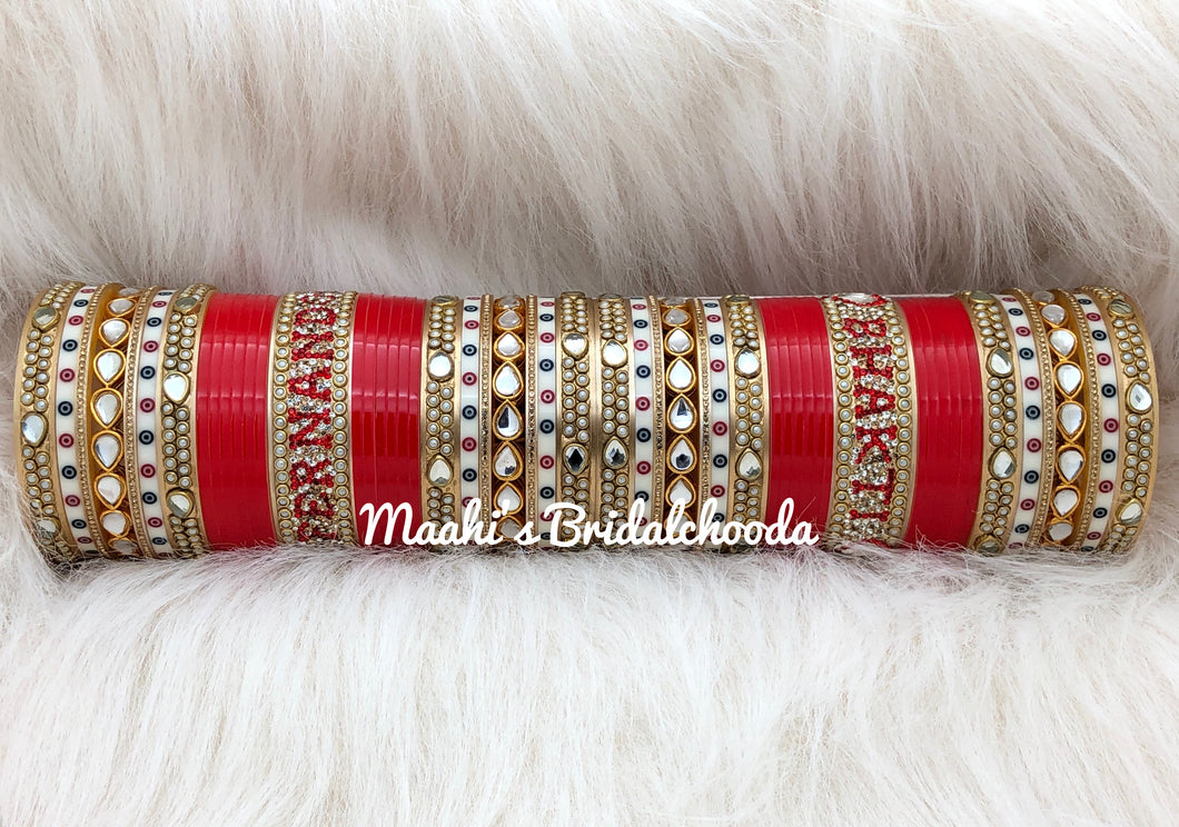 Maahi's Exclusive Personalized Chooda - 023 - Bridalchooda
