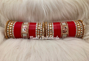 Maahi's Exclusive Personalized Chooda - 024 - Bridalchooda