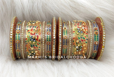 Handpainted Kundan Chooda - 013