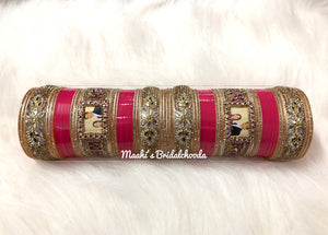 Maahi's Exclusive Personalized Chooda - 007 - Bridalchooda