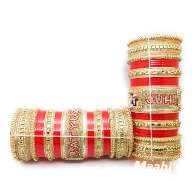 Maahi's Exclusive Personalized Chooda - 001 - Bridalchooda