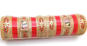 Maahi's Exclusive Personalized Chooda - 005 - Bridalchooda