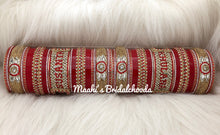 Load image into Gallery viewer, Maahi's Exclusive Personalized Chooda - 015 - Bridalchooda