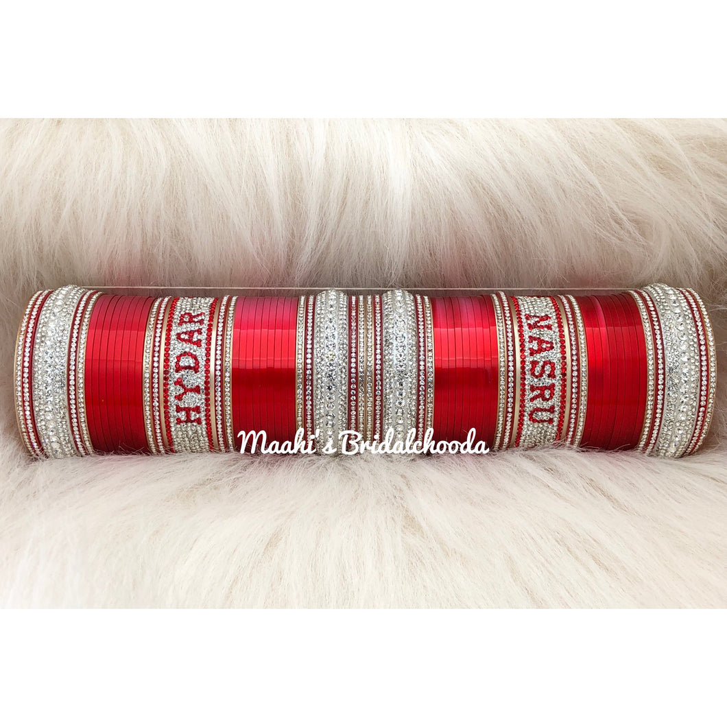 Maahi's Exclusive Personalized Chooda - 019 - Bridalchooda