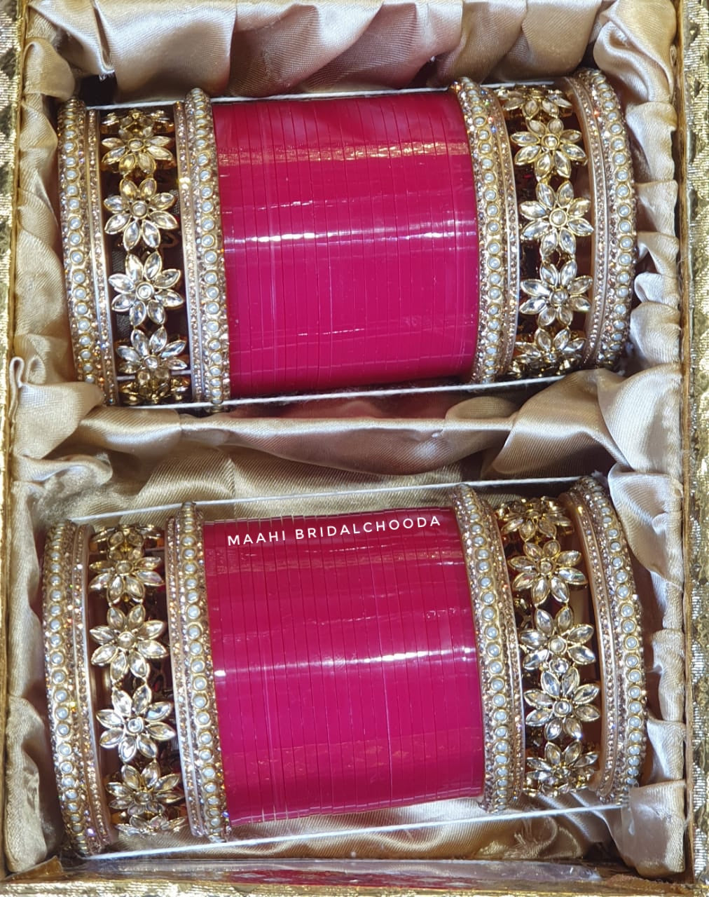 Maahi Exclusive Kundan Chura - 042