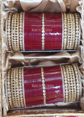 Maahi Exclusive Kundan Chura - 046
