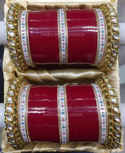 Maahi Exclusive Kundan Chura - 049
