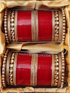 Maahi Exclusive Kundan Chura - 056