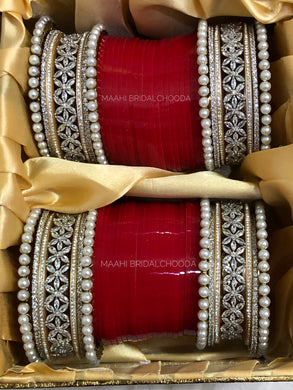 Maahi Exclusive American Diamond Chura - 057