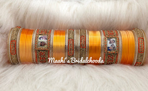 Maahi's Exclusive Personalized Chooda - 013 - Bridalchooda