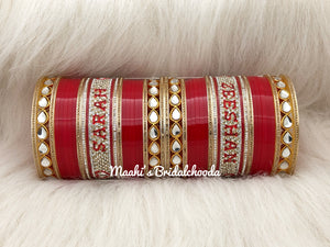 Maahi's Exclusive Personalized Chooda - 017 - Bridalchooda