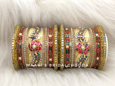 Handpainted Kundan Chooda - 020