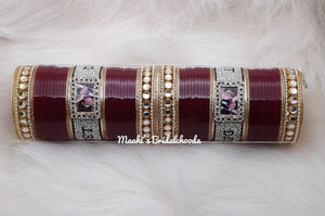 Maahi's Exclusive Personalized Chooda - 006 - Bridalchooda